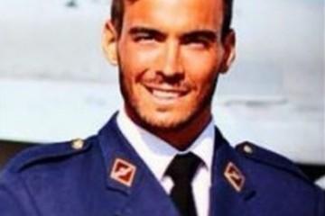 El infortunado piloto, teniente Pérez Serrano