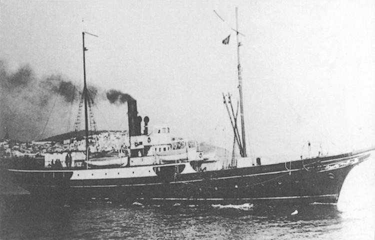 """El buque """"General Fernández Silvestre"""", protagonista del vapor en la zona del Estrecho"""