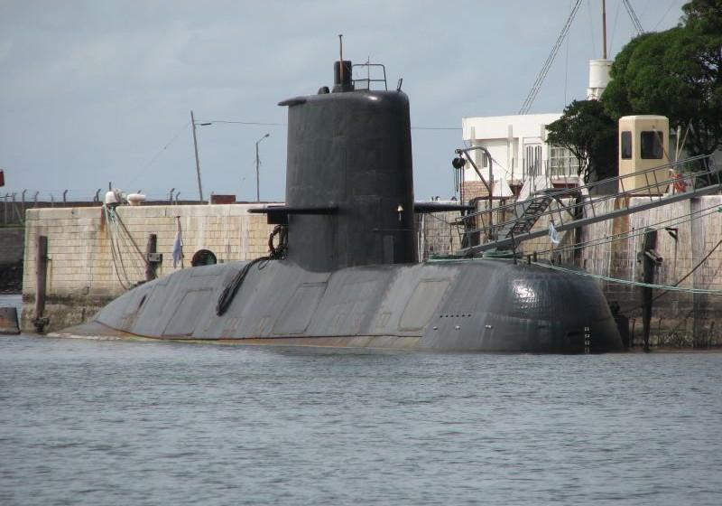 """El submarino """"ARA San Juan"""" es de construcción alemana, en servicio desde 1985"""