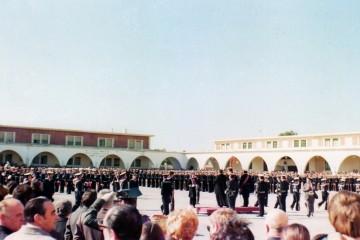 Jura de bandera en el Cuartel de Instrucción de Marinería de San Fernando (Cádiz)