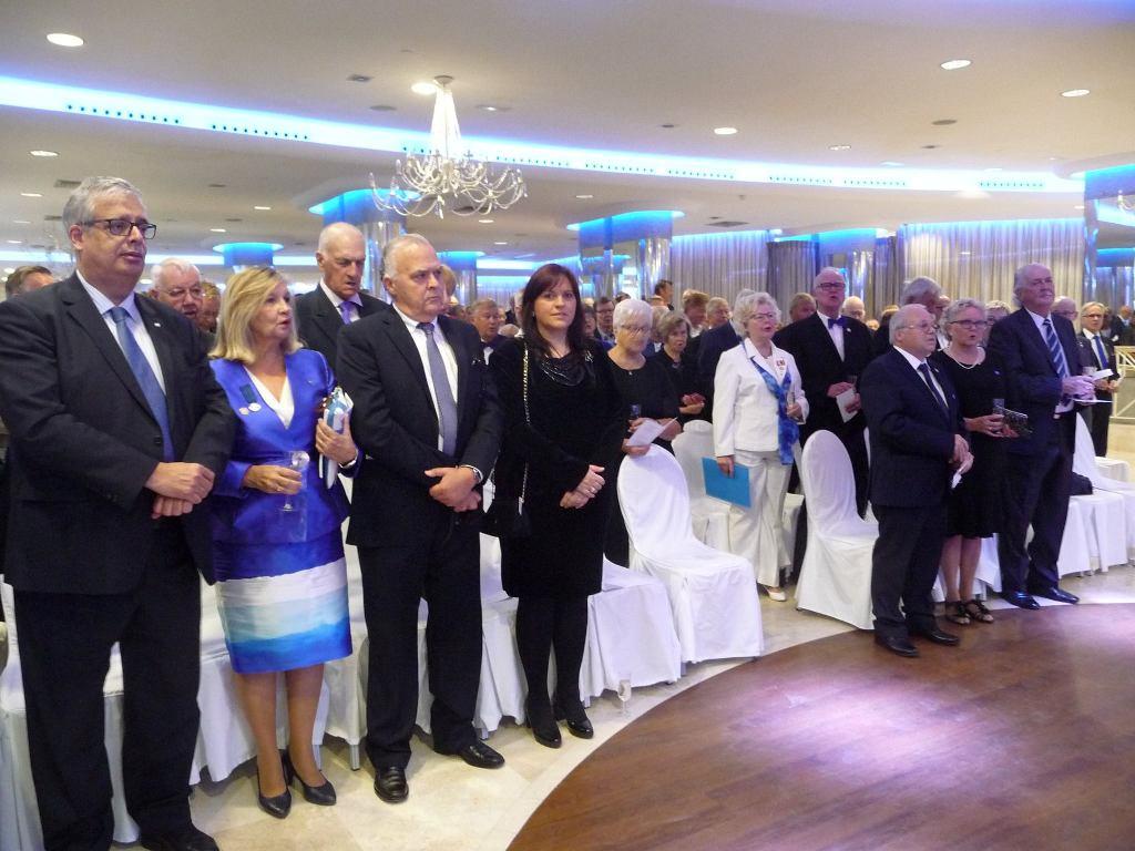 Representación consular de Finlandia en el acto celebrado en Las Palmas
