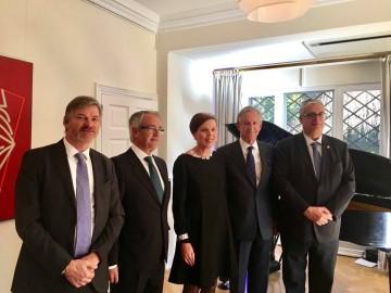 La embajadora de Finlandia en España y los cónsules en Cataluña, Valencia, Asturias y Canarias