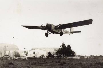 La primera Iberia se estrenó el 14 de diciembre de 1927 con este modelo de avión