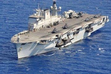 """Los recortes en Defensa han determinado la venta del buque HMS """"Ocean"""""""