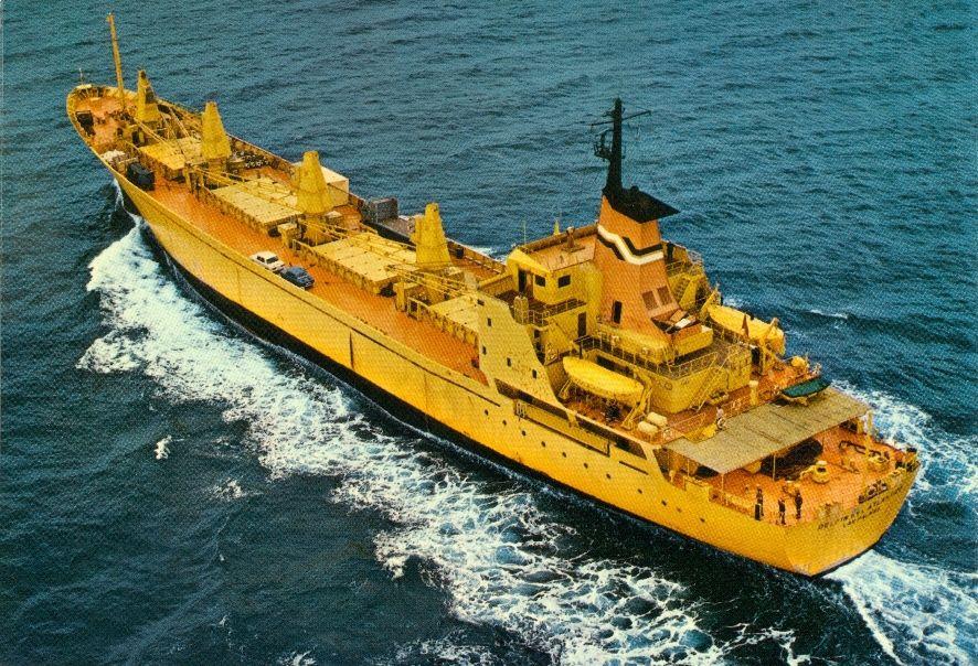 """En su época, en unión de su gemelo """"Delfín del Mediterráneo"""", fue un buque excelente"""