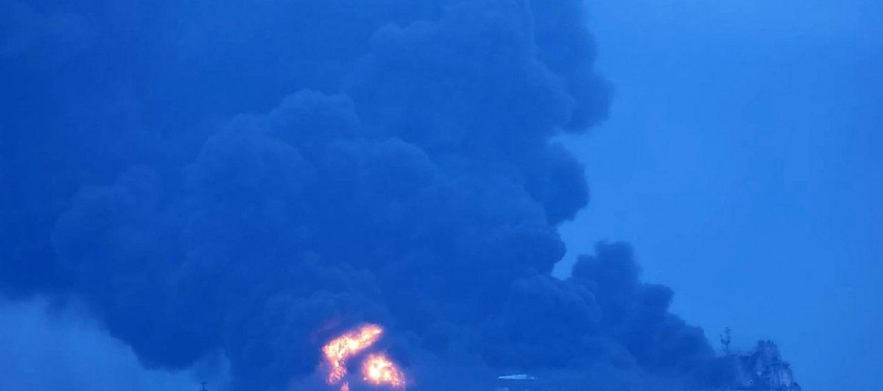 explosión, petrolero, crudo, tripulantes, Sanchi, CF Crystal,