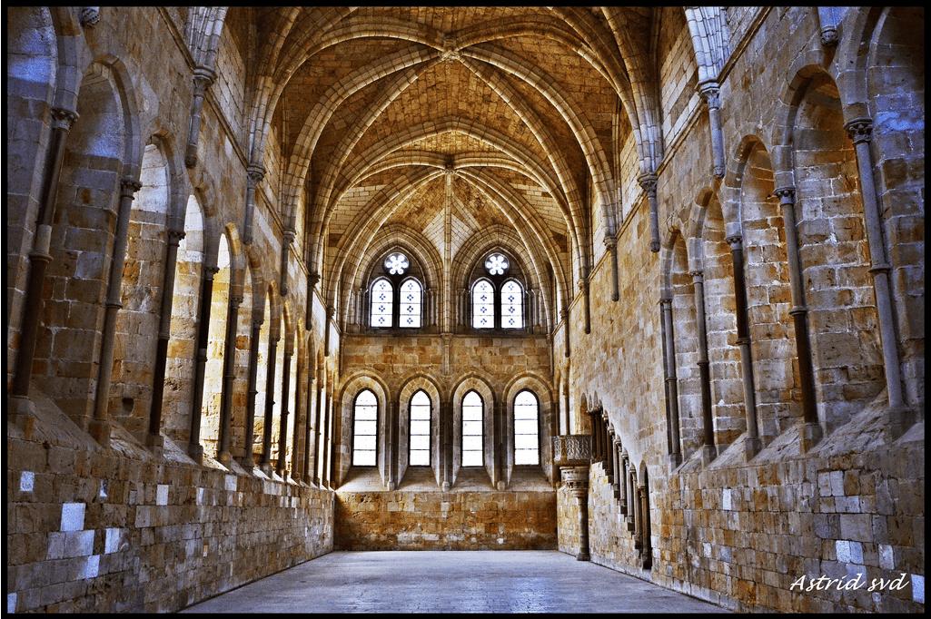 Bóveda de crucería. Monasterio de Santa María de las Huertas