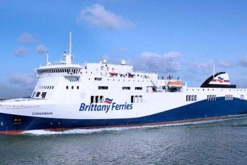 Para cubrir la nueva línea, Brittany Ferries ha fletado un buque tipo Visentini
