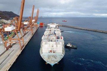 La terminal de TCT sigue generando trabajo en el tráfico de transbordo