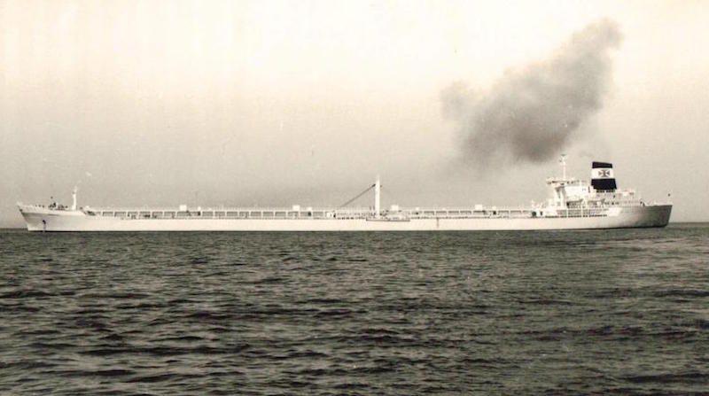 """El petrolero """"Zaragoza"""" (2º) era en 1969 el mayor buque de la flota de CEPSA"""