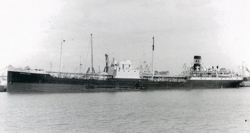 """El petrolero """"Monteleón"""", ex """"Campestre"""", llegó en 1958 a la flota de CEPSA"""