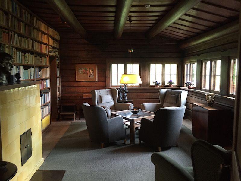 La biblioteca de Ainola
