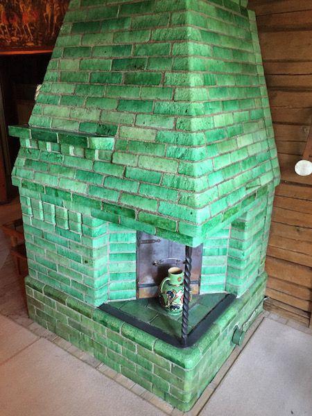 La chimenea verde, uno de los requisitos de Sibelius