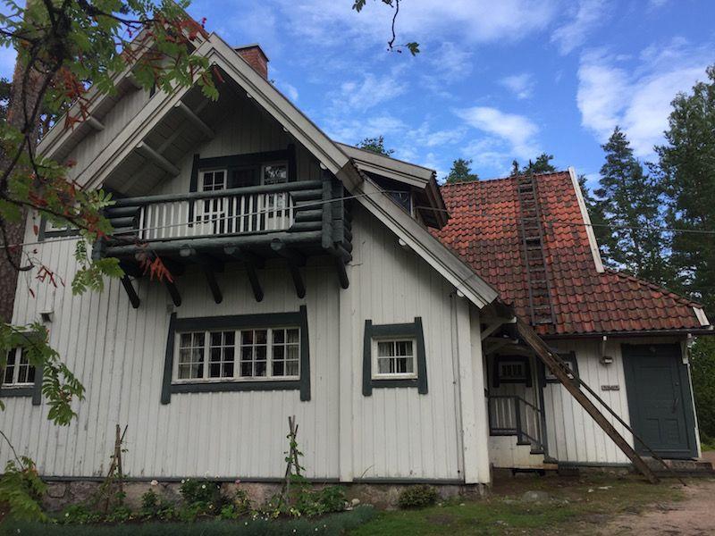 Anilla es un ejemplo de arquitectura finlandesa de comienzos del siglo XX