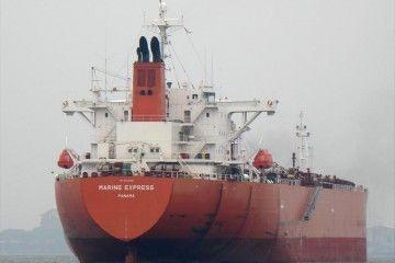 """Este es el petrolero """"Marine Express"""", secuestrado en aguas de Benin"""