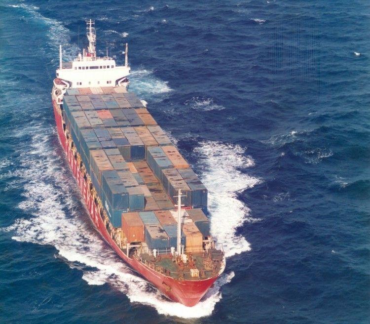 """El buque """"Delfin del Mediterráneo"""" estaba fletado a una de las sociedades del Grupo Contenemar"""