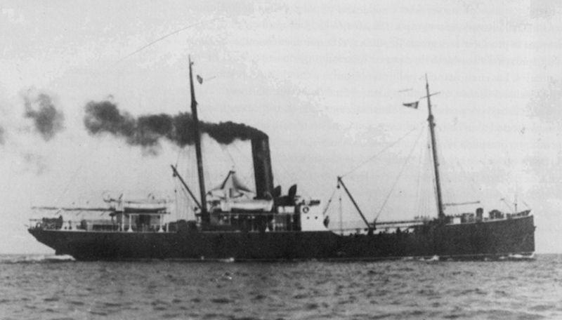"""En el vapor """"Gobernador Chacón"""" navegó en aguas de Guinea Ecuatorial"""