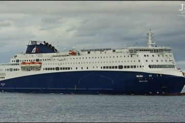 "El ferry ""Nova Star"" ha estado desde 2016 al servicio de Inter Shipping"