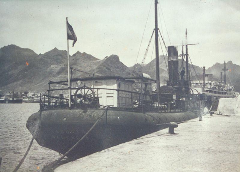 """""""Sagunto"""", una vieja gloria de 1875, otro de los barcos de Carmelo Juan Ojeda"""