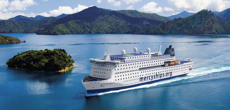 """Esta será el aspecto externo del buque hospital """"Global Mercy"""""""