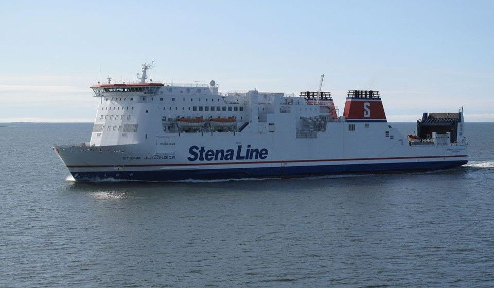 """Stena Line realiza pruebas en el buque """"Stena Jutlandica"""""""