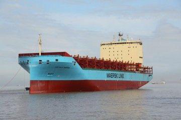"""El buque """"Vístula Maersk"""" ha sido entregado en febrero pasado"""