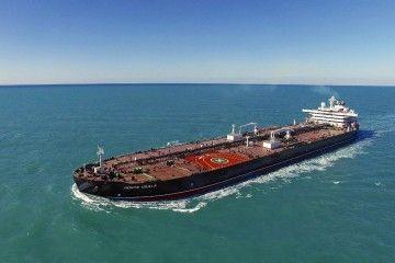 """El petrolero """"Monte Udala"""", en pruebas de mar"""