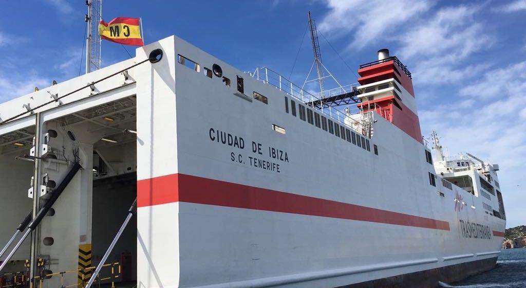 """El buque """"Ciudad de Ibiza"""" ya está abanderado en España"""