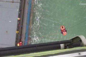 """La evacuación de la tripulación del buque """"Betanzos"""" duró una hora"""