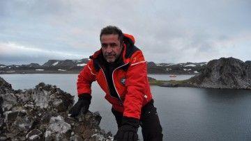 El capitán de fragata Javier Montojo Salazar, fallecido en la Antártida