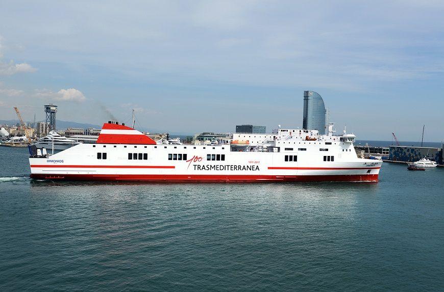"""El buque """"Dimonios"""" reforzará la línea en verano"""