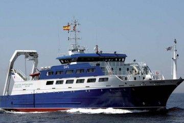 """El buque """"Intermares"""", entregado en 2009, ha tenido muy poco uso"""