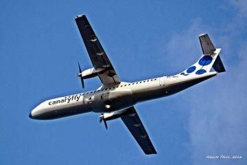Canaryfly es la aerolínea de mayor crecimiento en Canarias en 2017