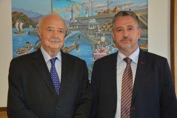 Ricardo Melchior y Luis Santana Ríos, nuevo director de Puertos de Tenerife