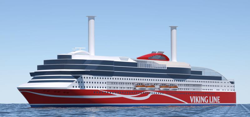 El buque que está en construcción en China tendrá dos rotores