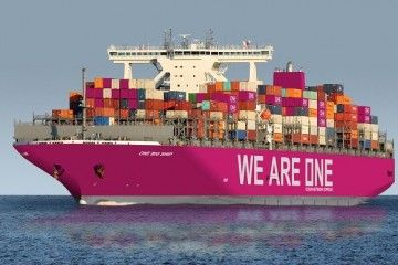La estética exterior de los buques de One llama la atención