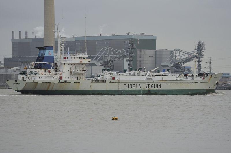 """""""Encofrador"""", último buque construido por encargo de Naviera Alvargonzález"""