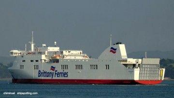 """El buque """"Connemara"""" es un ferry tipo Visentini"""