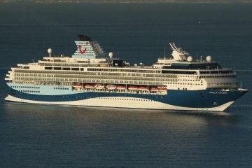 """Este es el aspecto exterior del buque """"Marella Explorer"""", ex """"Mein Schiff 1"""""""
