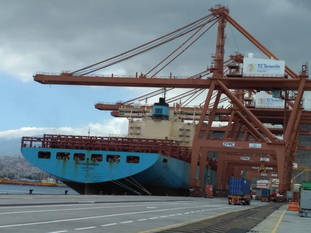 El buque llegó en lastre y la operativa se estima de 35 horas