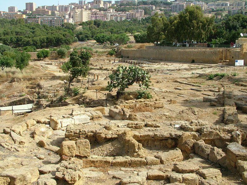 Agrigento. Ágora y Boleuterion