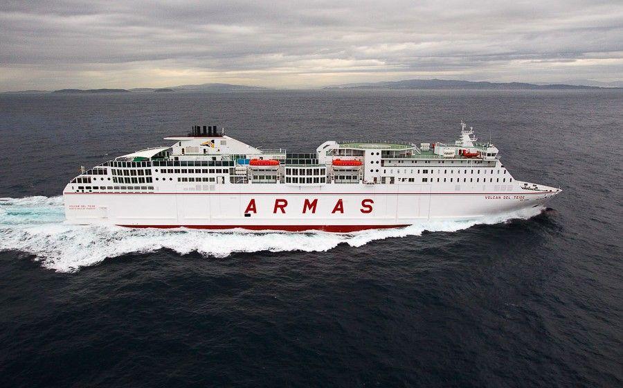 FRS Iberia fletará los barcos de Naviera Armas que cubren las líneas cuestionadas por Competencia