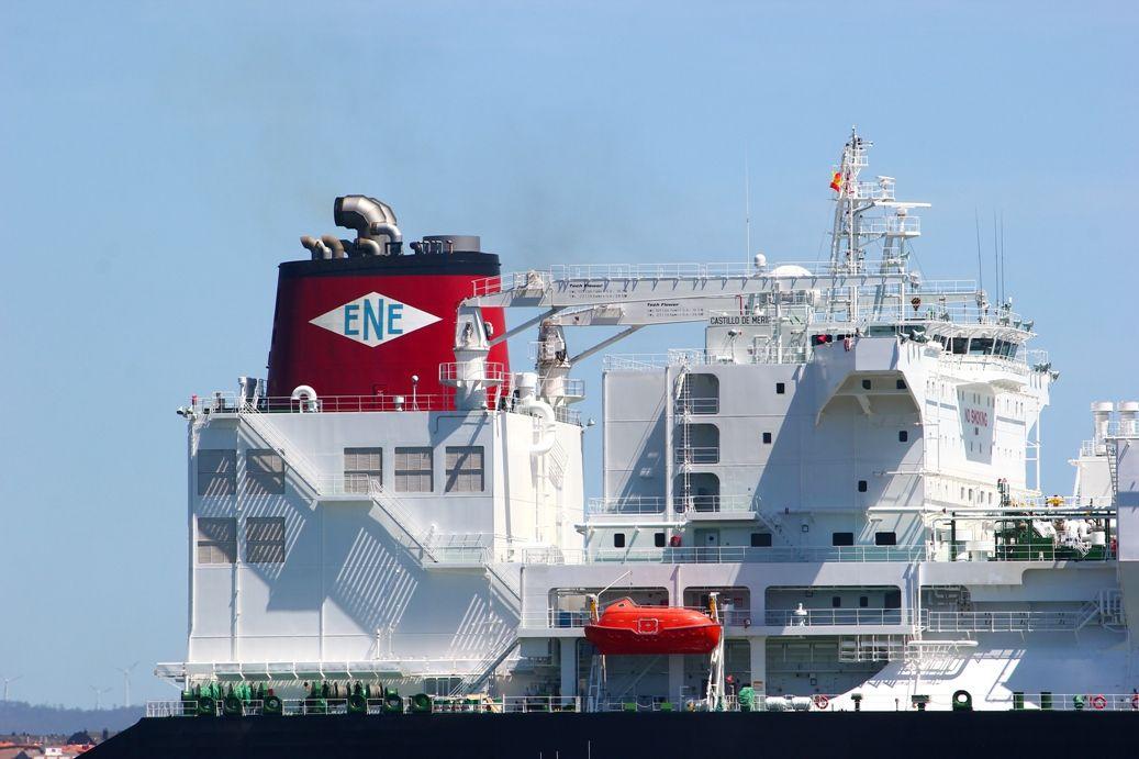 es el tercer buque metanero de la flota de Elcano