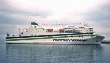 """El buque """"Juan J. Sister"""", en su aspecto original"""