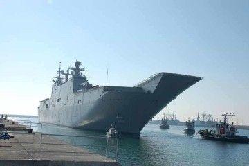 """El buque """"Juan Carlos I"""" navega rumbo al Golfo Pérsico"""