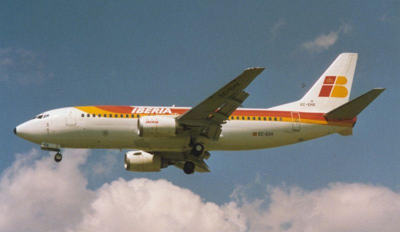 Boieng B-737 de Air Europa alquilado por Iberia