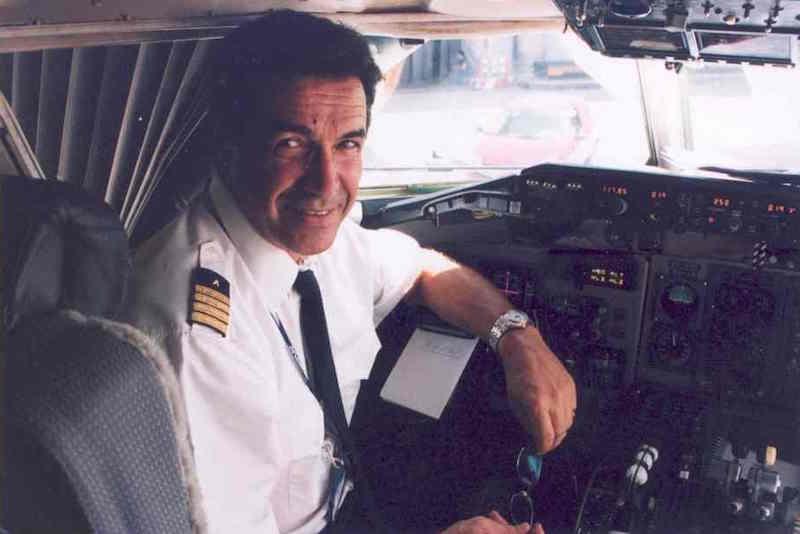 José Carlos Pérez Torres, comandante de Aviaco y de Iberia