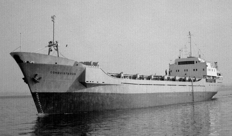 """El buque """"Conquistador"""", transformado en portacontenedores"""