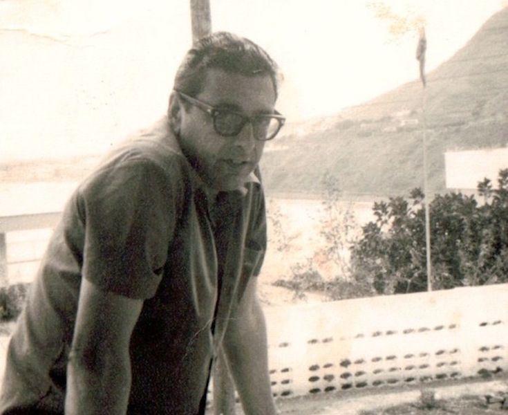 De vacaciones en Tenerife. Unos días de descanso con su familia en Punta del Hidalgo
