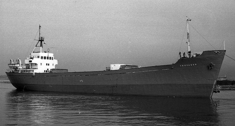 """El buque """"Trovador"""", ex """"Lago Enol"""" (1º), se compró a Naviera Lagos"""